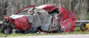 Accidente choque frontal en ruta 226 ago 17