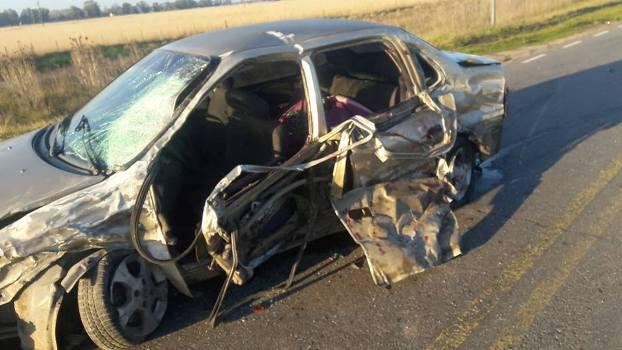 Choque fatal en Ruta 88 (1)