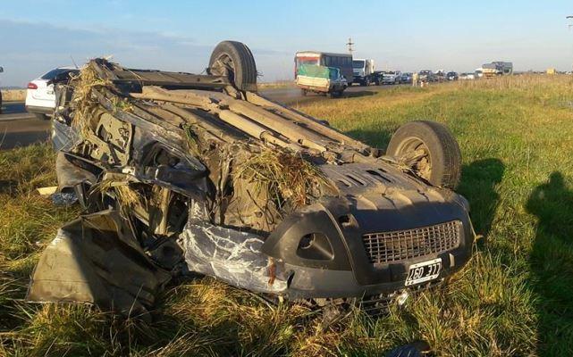 Choque fatal en Ruta 88