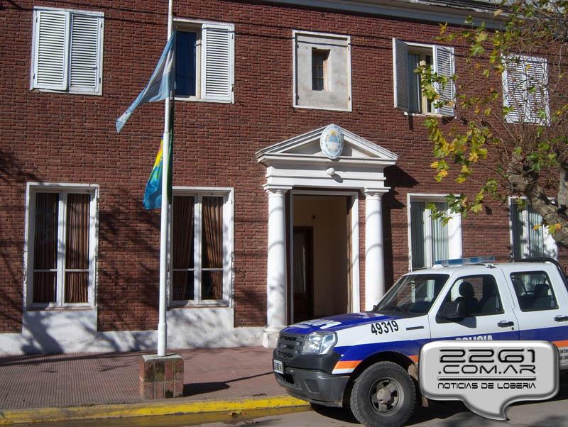 Comisaría Lobería policía