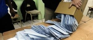 Escrutinio elecciones urna