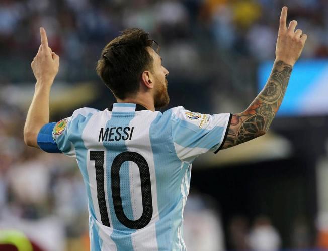 Lionel Messi selección Argentina2