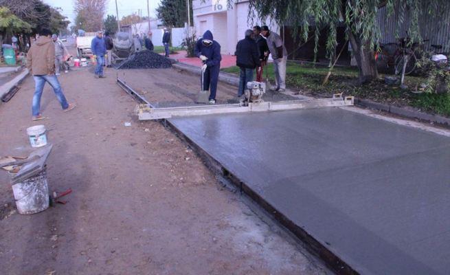 Pavimento calle Piñero