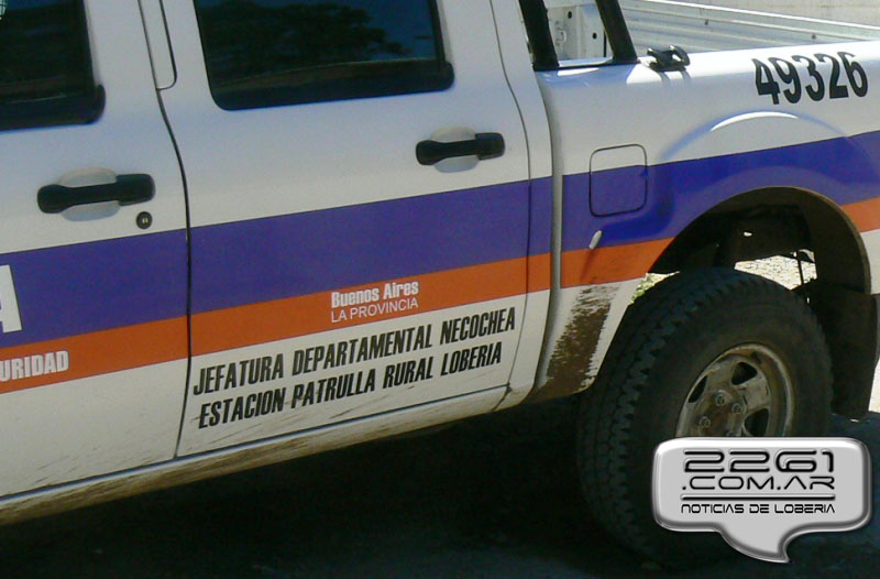Policia loberia patrulla rural movil