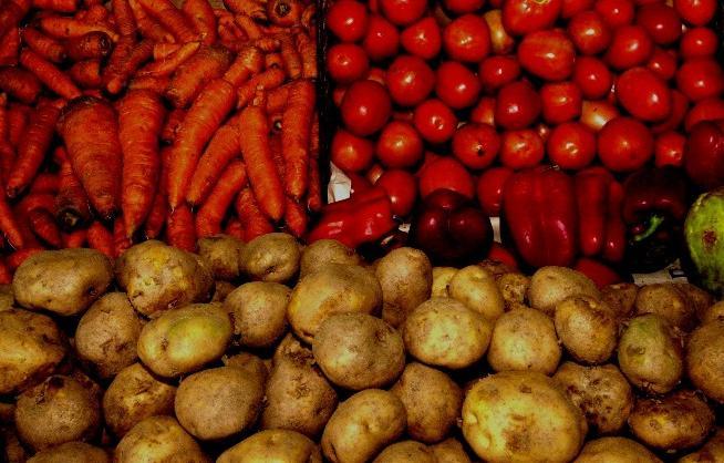 alimentos agricolas verduras