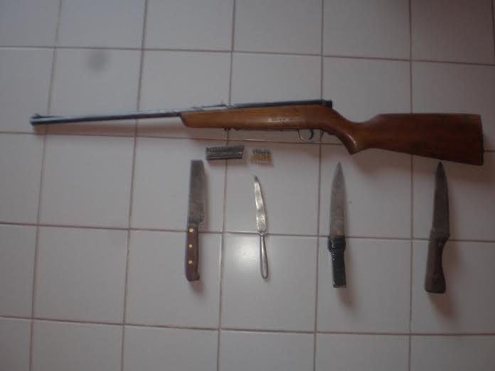 allanamientos loberia carabina cuchillos