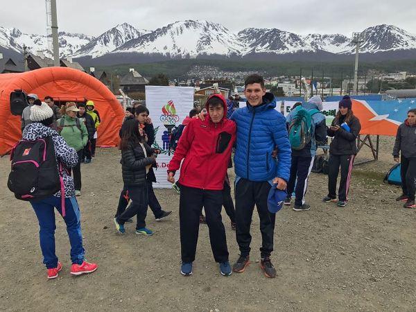 atletas en ushuaia