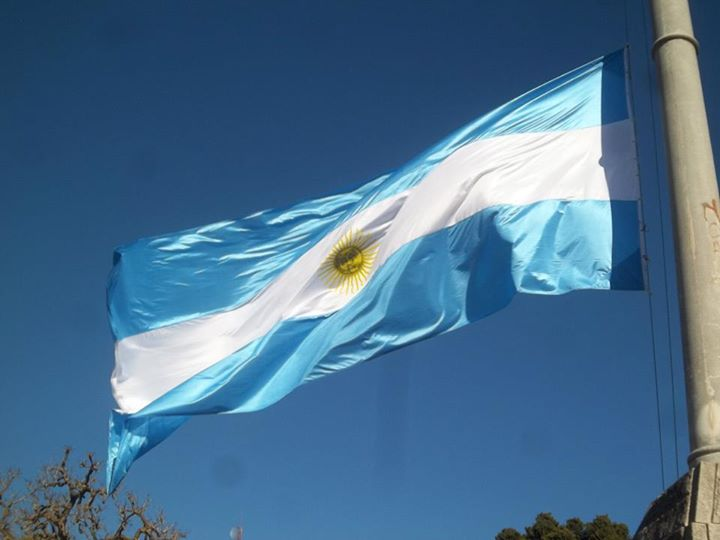 bandera argentina loberia