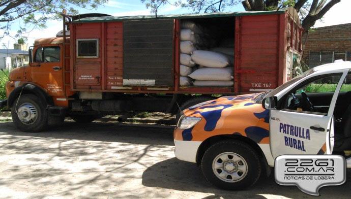 camión cereal robado loberia