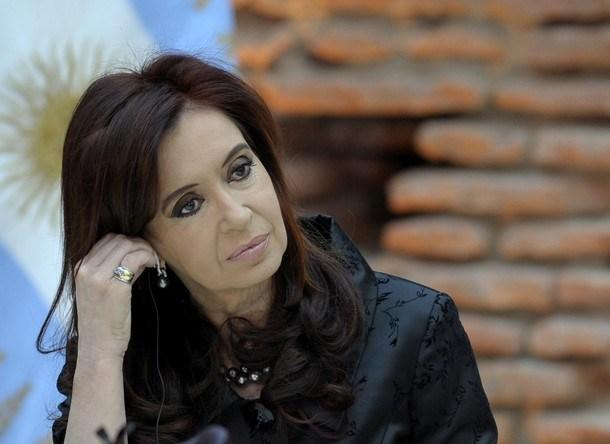 Argentine President Cristina Fernandez d