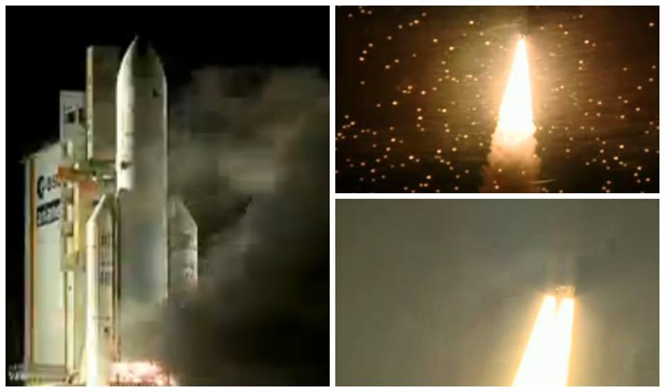 lanzamiento arsat 1